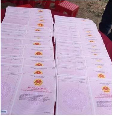 Hồ sơ, giấy tờ pháp lý minh bạch